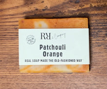 Load image into Gallery viewer, Patchouli Orange  Soap -Rubbish Restyled