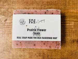 Prairie Flowers Soap - RR & CO