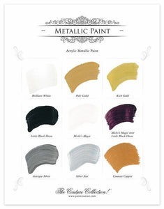 Paint Couture Metallic - Silver Star