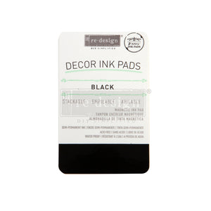 REDESIGN DECOR INK PAD – BLACK– MAGNETIC INK PAD