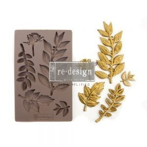 ReDesign Decor Mould - Leafy Blossoms 5