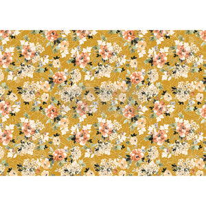 REDESIGN DECOR RICE PAPER –   FLEURETTE DRESS  – 11.5″ X 16.25″