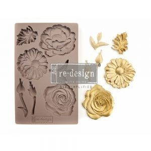 "ReDesign Decor Mould - In TheGarden 5"" x 8"""