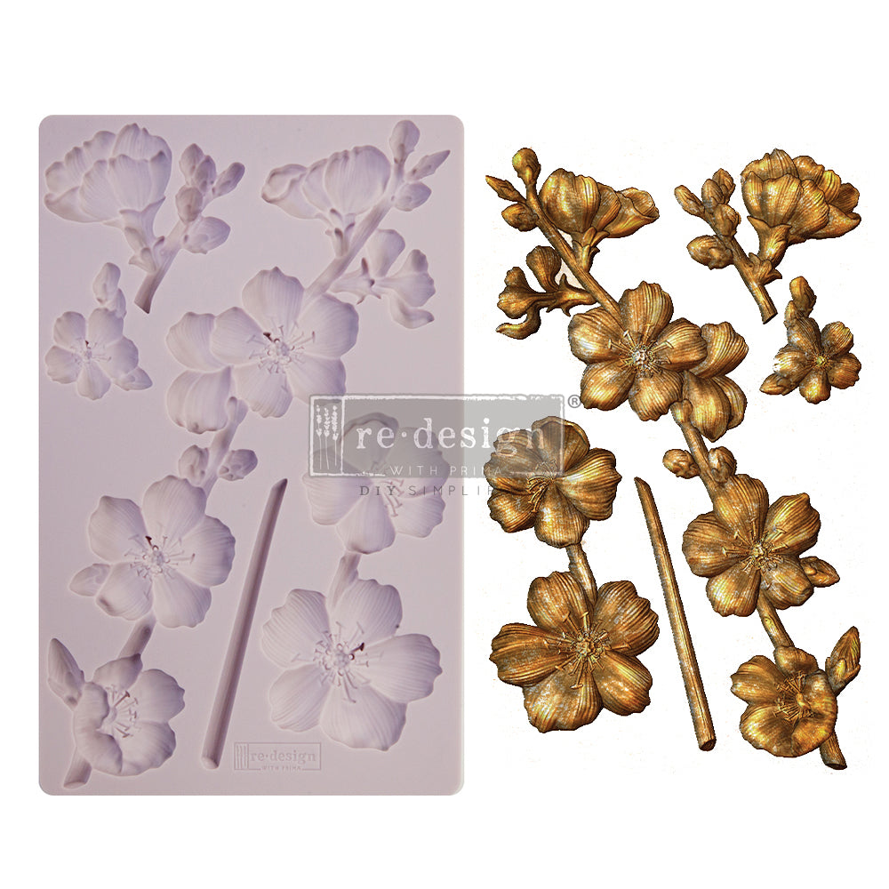 ReDesign Decor Mould - Botanical Blossoms  5