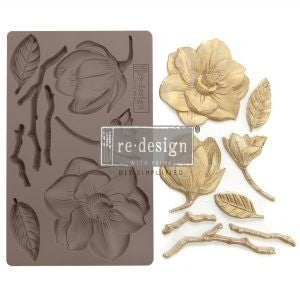 "ReDesign Decor Mould - Winter Blooms 5"" x 8"""