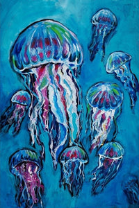 "Jellies 20"" x 30"" - Roycycled Treasures Decoupage Tissue Papers"