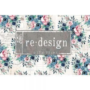 Paulette - Decoupage Decor Tissue - Redesign With Prima