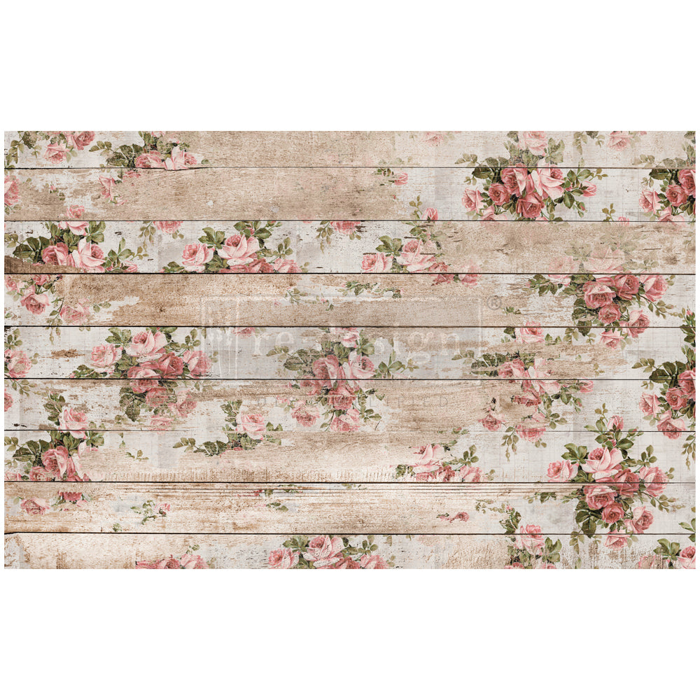 SHABBY FLORAL  - Decoupage Decor Tissue - Redesign With Prima