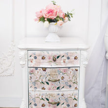 "Load image into Gallery viewer, BLUSH FLORAL - Decoupage Decor Tissue 19"" x 30"" - Redesign With Prima One Sheet"