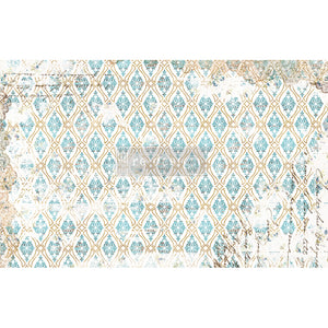 "DISTRESSED DECO - Decoupage Decor Tissue 19"" x 30"" - Redesign With Prima One Sheet"