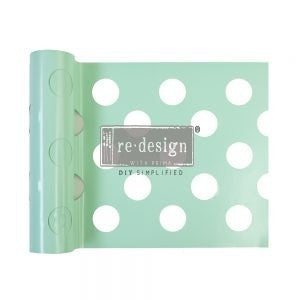 "Redesign Stick & Style® Stencil-Large Dot 7"" x 3 Yards"