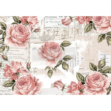 Load image into Gallery viewer, REDESIGN DECOR RICE PAPER –  FLORAL SWEETNESS   – 11.5″ X 16.25″