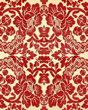 "Load image into Gallery viewer, Red Demask 20"" x 30"" Roycycled Treasures Decoupage Tissue Papers -"