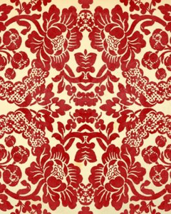 "Red Demask 20"" x 30"" Roycycled Treasures Decoupage Tissue Papers -"