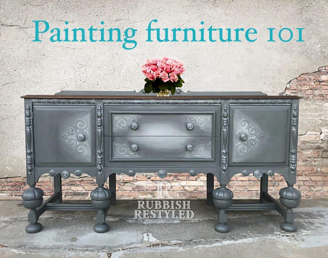 Painted Furniture 101  In - Person Workshop