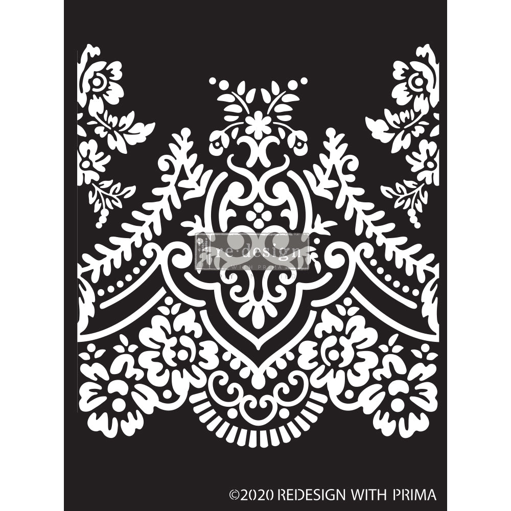 REDESIGN DECOR STENCILS® -ELEGANT LACE – 9″X13.5″ 0.8MM THICKNESS