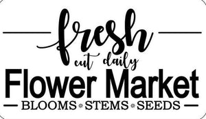 Fresh Flower Market | JRV Stencil Collection