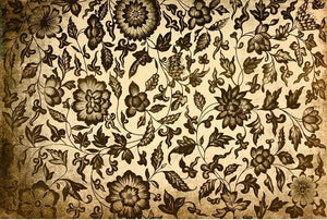 "Grungy Floral 20"" x 30"" - Roycycled Treasures Decoupage Tissue Papers"