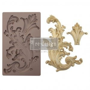 "ReDesign Decor Mould - Portico Scroll II 5"" x 8"""