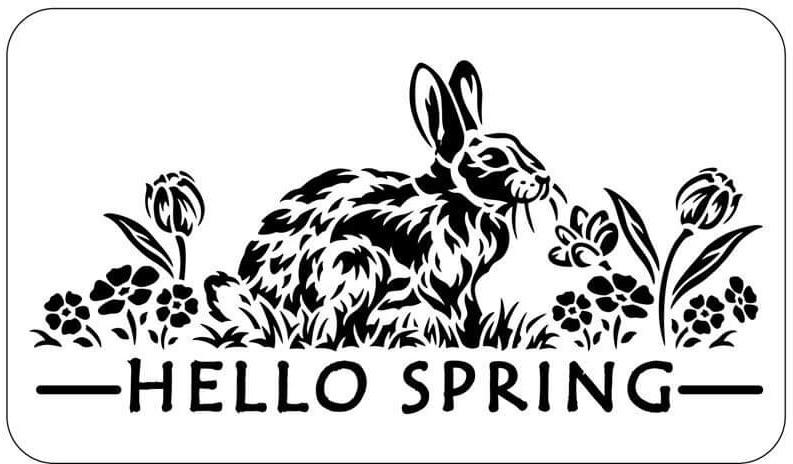 Hello Spring | JRV Stencil Collection