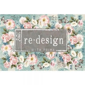 Zola - Decoupage Decor Tissue - Redesign With Prima