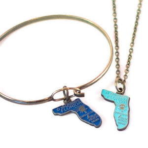 Warrior Token Charm Necklace