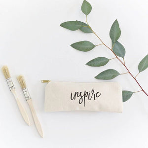 Inspire  Pencil Case and Travel Pouch