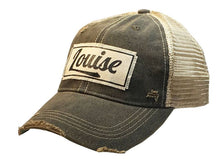 Load image into Gallery viewer, Louise Distressed Trucker Cap