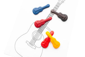 Guitar Crayons, Party Favor Crayon Sets
