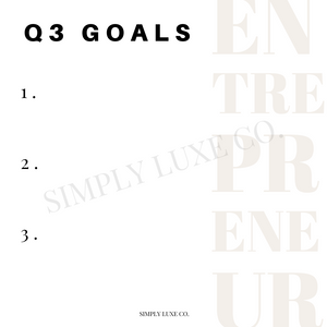 Entrepreneur Project Management Printable Journaling Card Bundle (3x3 in.)