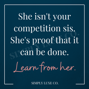 """Learn from Her"" Printable Journaling Card (3x3 in.)"