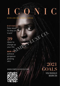 Iconic Magazine Fashion Digital Planner Dashboard Bundle