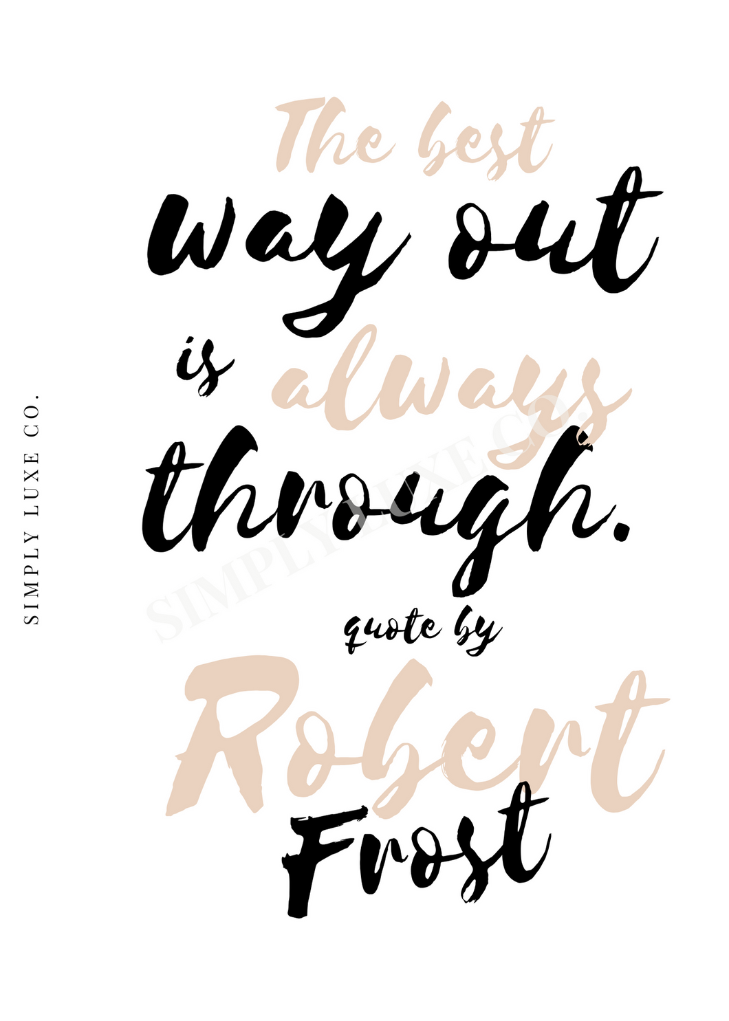 Robert Frost Quote Dashboard