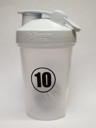 20 oz. BlenderBottle Clear/White