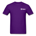 Load image into Gallery viewer, 10 Fitness University- Seal Unisex Short Sleeve - purple