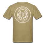 Load image into Gallery viewer, 10 Fitness University- Seal Unisex Short Sleeve - khaki