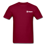 Load image into Gallery viewer, 10 Fitness University- Seal Unisex Short Sleeve - burgundy