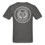 Load image into Gallery viewer, 10 Fitness University- Seal Unisex Short Sleeve - charcoal