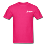 Load image into Gallery viewer, 10 Fitness University- Seal Unisex Short Sleeve - fuchsia