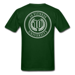 Load image into Gallery viewer, 10 Fitness University- Seal Unisex Short Sleeve - forest green