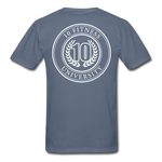 Load image into Gallery viewer, 10 Fitness University- Seal Unisex Short Sleeve - denim