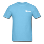 Load image into Gallery viewer, 10 Fitness University- Seal Unisex Short Sleeve - aquatic blue