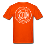 Load image into Gallery viewer, 10 Fitness University- Seal Unisex Short Sleeve - orange