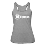 Load image into Gallery viewer, Women's Tri-Blend Racerback Tank - heather gray