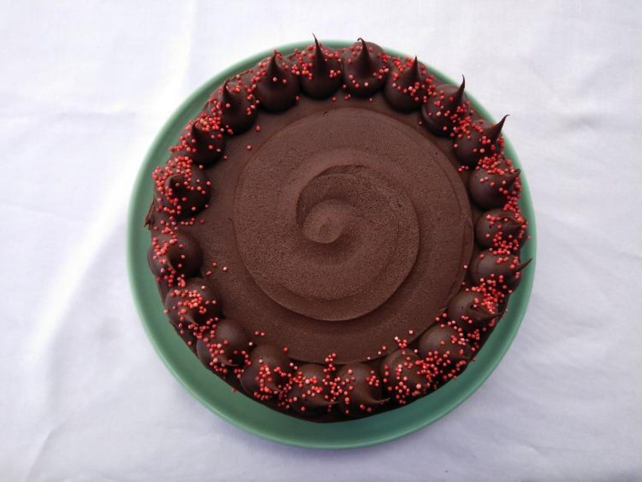 Signature Chocolate Chocolate Cake (edible image available)