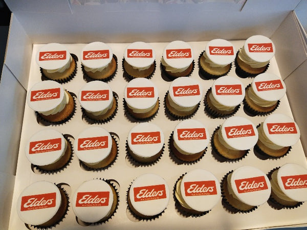 Regular Corporate Cupcakes