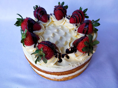 Strawberry Vanilla Cake (Available December)