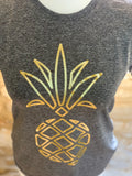 Gold Pineapple Performance T