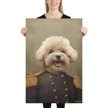 Load image into Gallery viewer, Good Boy Art - The Admiral Personalized renaissance pet painting