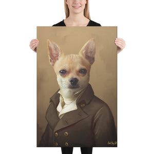 Good Boy Art - The Ambassador Custom renaissance pet portrait